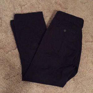 Men's black Life Khaki Dress Pants